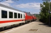 DB 218326/464 pass through Bad Cannstatt with IC2013 0601 Magdeburg - Oberstdorf