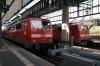 Stuttgart HB (L-R) DB 111047 with 19925 1643 Stuttgart HB - Schwabisch Hall & DB 111211 with 19941 1649 Stuttgart HB - Aalen