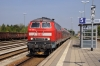 DB 218460 arrives into Buchloe with 57346 1303 Augsburg - Fussen