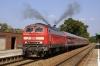 DB 218461 departs Kaufbeuren with 57510 1352 Munich HB - Fussen