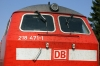 DB 218471 at Buchloe with 57511 1406 Fussen - Munich HB