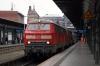 DB 218314/342 at Hamburg HB with IC2191 1156 Westerland (Sylt) - Frankfurt HB