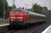DB 218450 arrives into Sarstedt with 14067 1148 Hannover HB - Bad Harzburg