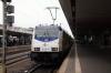 Metronom 146514 waits departure from Hannover HB with 82826 1107 Gottingen - Uelzen