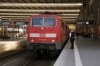 DB 111174 at Munich HB with 79017 1148 Munich HB - Salzburg HB