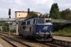 On hire to Alex, SVG 2143018 shunts out of Immenstadt to work Alex train 84170 1714 Immenstadt - Oberstdorf to its destination