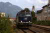 On hire to Alex, SVG 2143018 shunts out of Immenstadt to work Alex train 84170 1714 Immenstadt - Oberstdorf to its destination