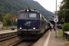 On hire to Alex, SVG 2143018 waits to depart Immenstadt with Alex train 84170 1714 Immenstadt - Oberstdorf