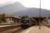 On hire to Alex, SVG 2143018 waits to depart Oberstdorf with Alex train 84177 1813 Oberstdorf - Immenstadt