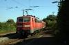 DB 111168 departs Waiblingen with 19911 1043 Stuttgart HB - Nurnberg