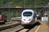 An ICE train passes through Plochingen