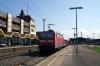 DB 143201 at Plochingen having arrived with 19330 1258 Geislingen - Plochingen