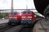 Ulm HB L-R DB 218460 with 57645 1019 Ulm - Kempten & DB 218406 with 4207 1012 Ulm - Lindau