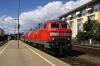DB 218456/481 wait departure from Friedrichschafen Stadt with IC118 0653 Salzburg HB - Munster