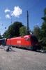 OBB 1016016 waits departure from Bregenz with 5665 1444 Bregenz - Bludenz