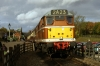 31563 at Rothley with the 1300 Loughborough GCR - Leicester North
