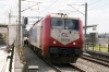 Adtranz 220013 departs Acharnai Railway Centre with IC56 1418 Athens - Thessalonika