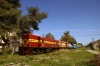 Alco DL537's A9101/A9105 pause for lunch at Varda with 7350 0900 Patra - Pirgos (Peloponnese Excursion)