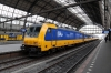 NS 186011 (leading) and 186014 (rear) T&T ICD1038 1240 Amsterdam Central - Rotterdam prior to departure from Amsterdam Central