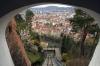 Graz - from Schlossbergbahn fenicular railway