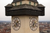 Graz - Clocktower at Schlossberg