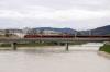 Railjet service heading into Salzburg Hbf