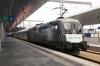 OBB 1116141 at Wien Hbf at the rear of RJ538 1422 Wien Hbf - Villach Hbf; Railjet 1116243 heads the train