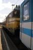 SZ 363005 waits to depart Spiefeld Strass with EC151 0755 Wien Hbf - Ljubljana having replaced MAV 470008