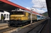 SZ 363005 waits to depart Maribor with EC151 0755 Wien Hbf - Ljubljana