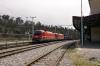 SZ 541's 541106/541014 run through Postojna with a freight