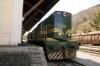 SZ 644005 at Most Na Soci in the car loading bay waiting to go with 854 1035 Most Na Soci - Bohinjska Bistrica car train
