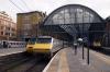 91127 waits to depart Kings Cross with 1D22 1633 Kings Cross - Leeds