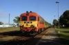 MAV 418197 departs Sumeg with 18807 0642 Szombathely - Kaposvar