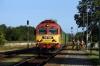 MAV 418306 arrives into Sumeg with 19607 0725 Szombathely - Budapest Deli