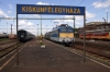 MAV 431218 at Kiskunfelegyhaza with 7114 1234 Kiskunfelegyhaza - Szeged
