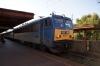 MAV 630040 at Kobanya Kispest with 16806 1336 Keszthely - Zahony