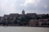 Budapest - Castle Hill from the banks of the Danube
