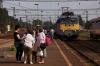 MAV 431058 arrives into Kiskunfelegyhaza with IC703 1545 Szeged - Budapest Nyugati