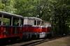 Budapest Childrens Railway - Mk45-2004 departs Janoshegy with 31132 1003 Szechenyihegy - Huvosvolgy