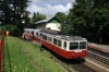 Budapest Cog Railway - No. 54 arrives into Szechenyihegy to form the 1122 service back down to Varosmajor