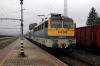MAV 433308 waits to depart Gyekenyes with 8215 1327 Gyekenyes - Dombovar