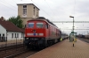 GySev 651008 waits to depart Csorna with IC910 0610 Budapest Keleti - Szombathely