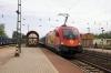 GySev 1116065 arrives into Acs with 9202 1038 Budapest Keleti - Szombathely