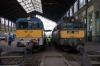 MAV 431125 at Budapest Nyugati having arrived with 6107 0603 Zahony - Budapest Nyugati