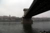 Budapest - Szechenyi Chain Bridge, Royal Palace (P) & Budapest Castle (R)