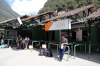 Inca Rail ticket office at Machu Picchu station