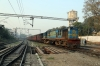 IZN YDM4 6515 arrives into Lucknow City with 15310 0720 Aishbagh - Pilibhit Jn Express