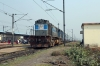 LKO WDM3D 11154 at Kanpur Bridge Left Bank with 54211 0510 Rae Bareli Jn - Kanpur Central