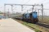 TNP WDM3A 18536 arrives into Trichy Jn with 12084 0710 Coimbatore Jn - Mayilduthurai Jn Shatabdi