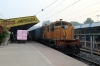 BNDM WDS6 36054 at Jharsuguda Jn after shunting th stock in to form 58162 0730 Jharsuguda Jn - Hatia passenger